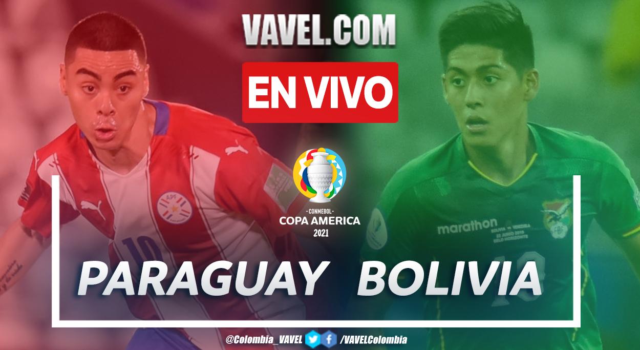 Resumen Paraguay vs Bolivia (3-1) en el Grupo A de la Copa América 2021