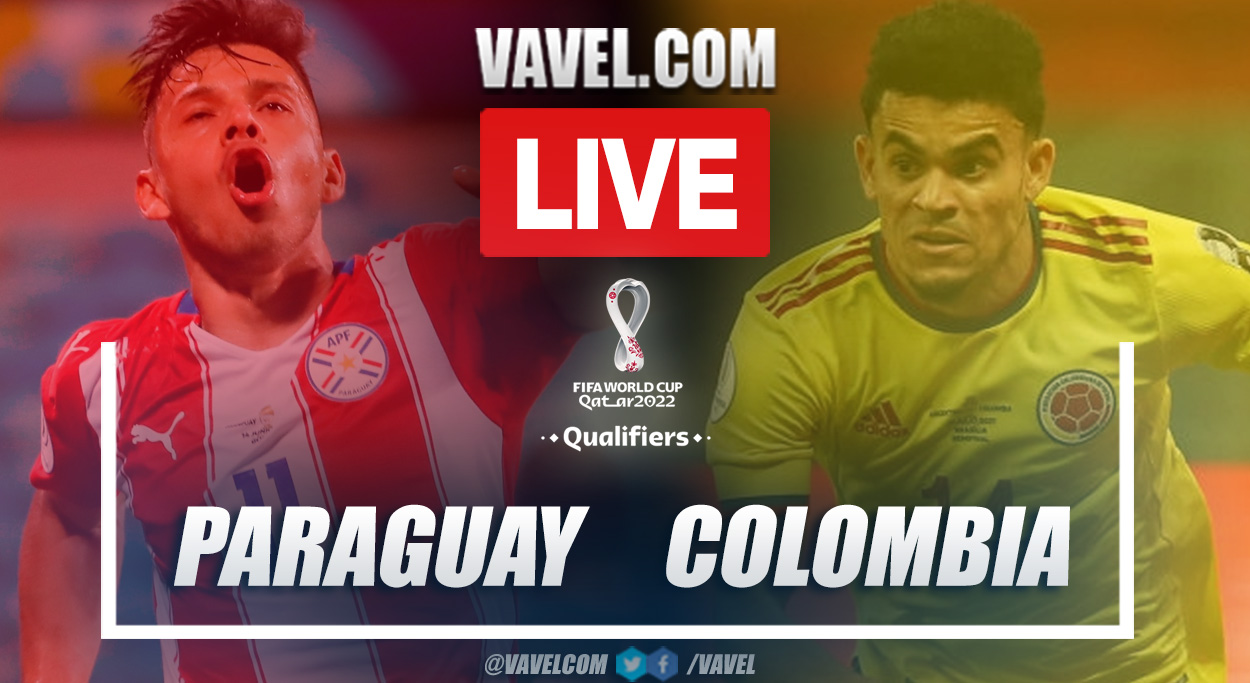 Highlights and goals: Paraguay 1-1 Colombia in 2022 World Cup Qualifiers