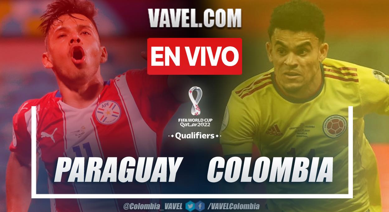 Resumen y goles: Paraguay 1-1 Colombia en la fecha seis por eliminatorias al Mundial 2022