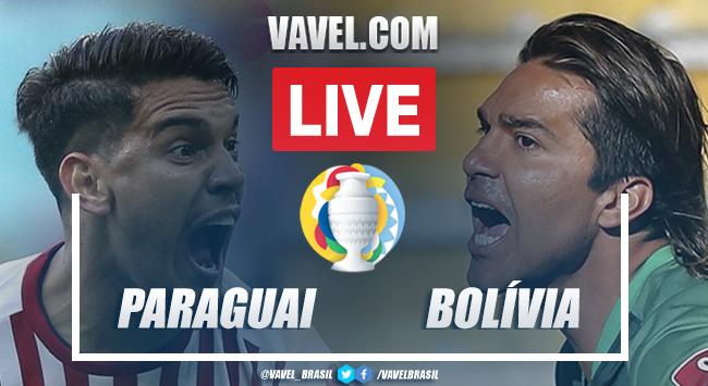 Gols e melhores momentos para Paraguai x Bolívia pela Copa América 2021 (3-1)