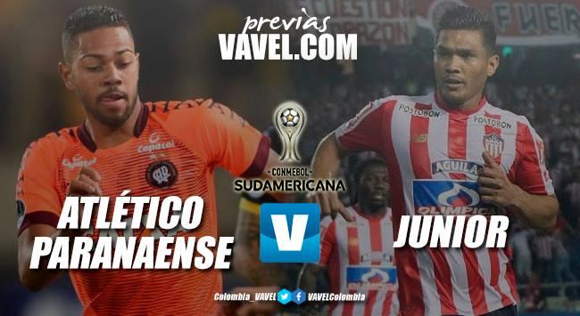 Previa Atlético Paranaense vs Junior: en busca de la primera gloria continental