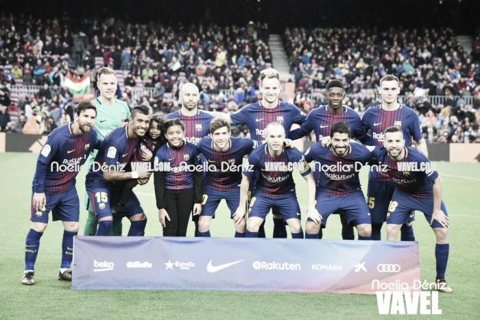 FC Barcelona-Levante UD: puntuaciones FC Barcelona, jornada 18 Liga Santander
