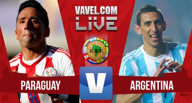 Resultado del partido Paraguay - Argentina (0-0)