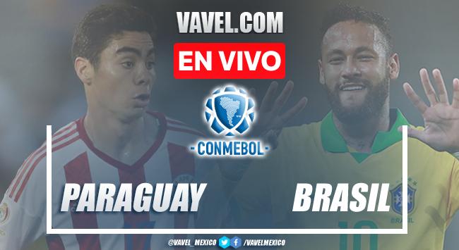 Goles y Resumen del Paraguay 0-2 Brasil en Eliminatorias CONMEBOL
