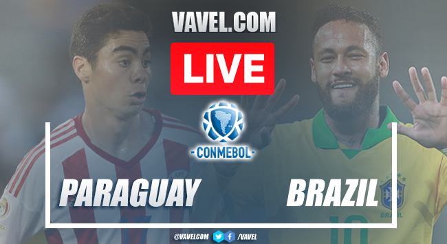 Goals and highlights in Paraguay 0-2 Brazil CONMEBOL Qualifiers