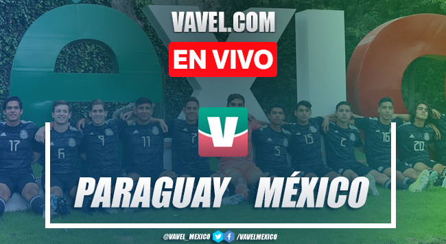 Paraguay vs México Sub-17 EN VIVO transmisión online