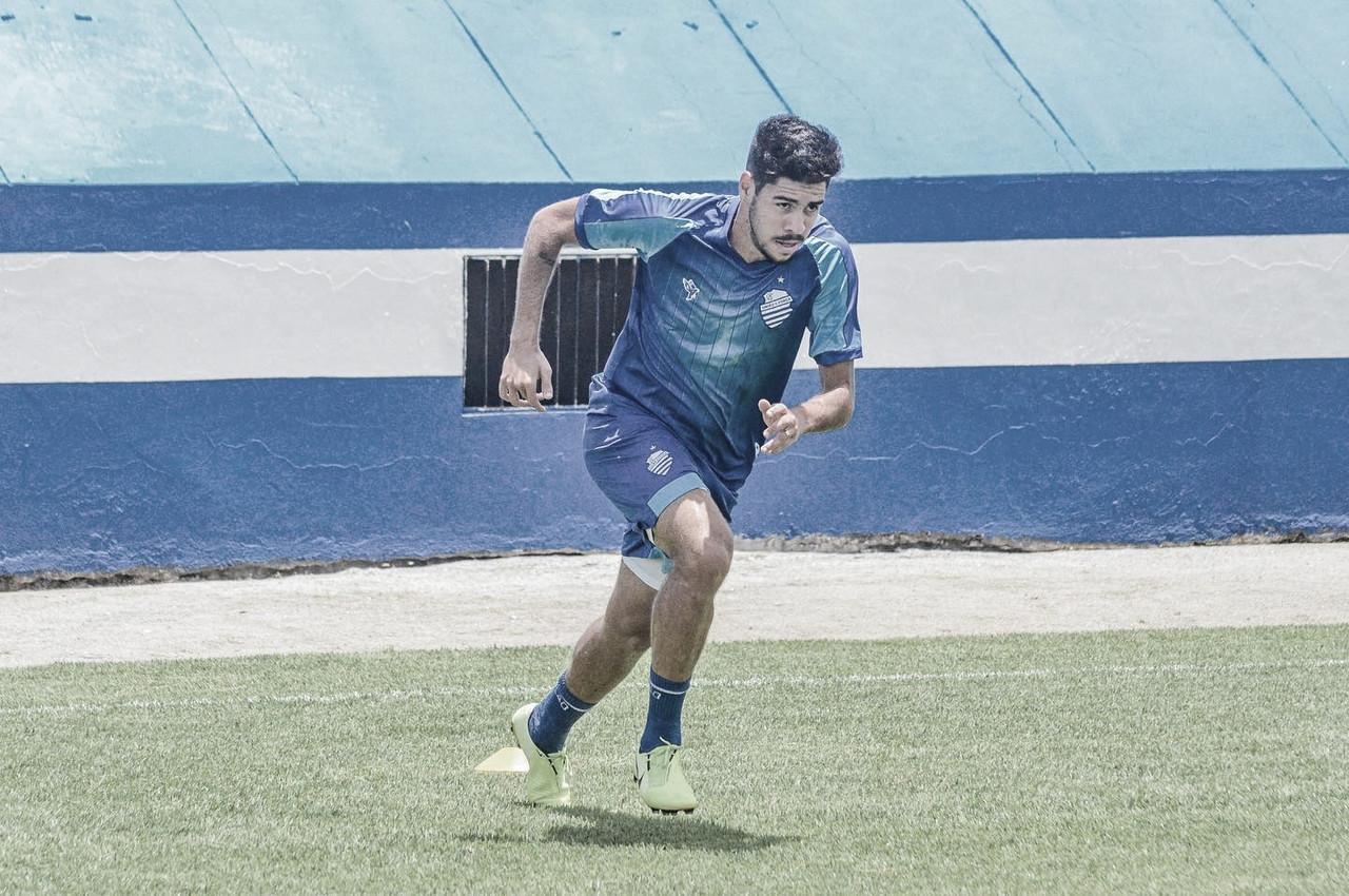 Victor Paraíba projeta evolução do CSA na próxima temporada