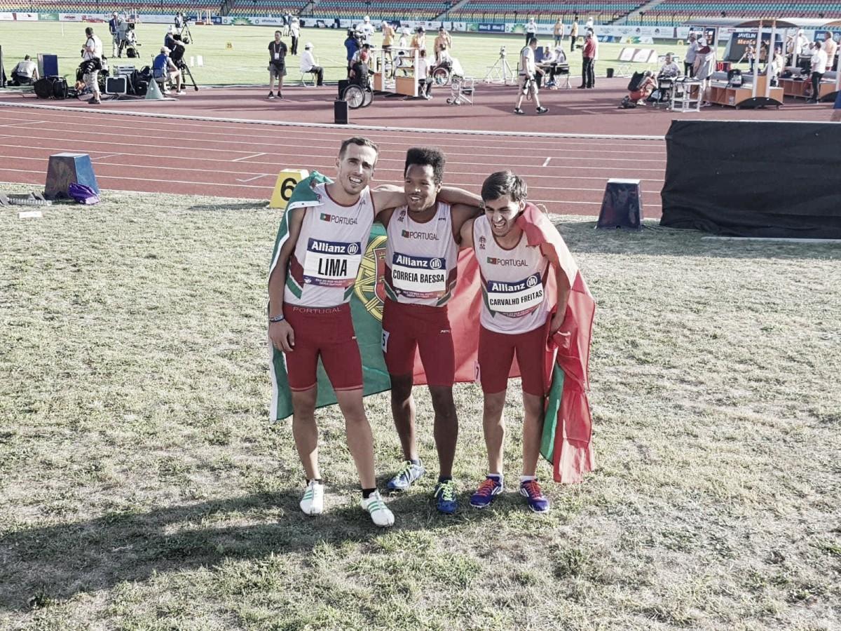 Portugal conquista cinco medalhas nos Paralímpicos