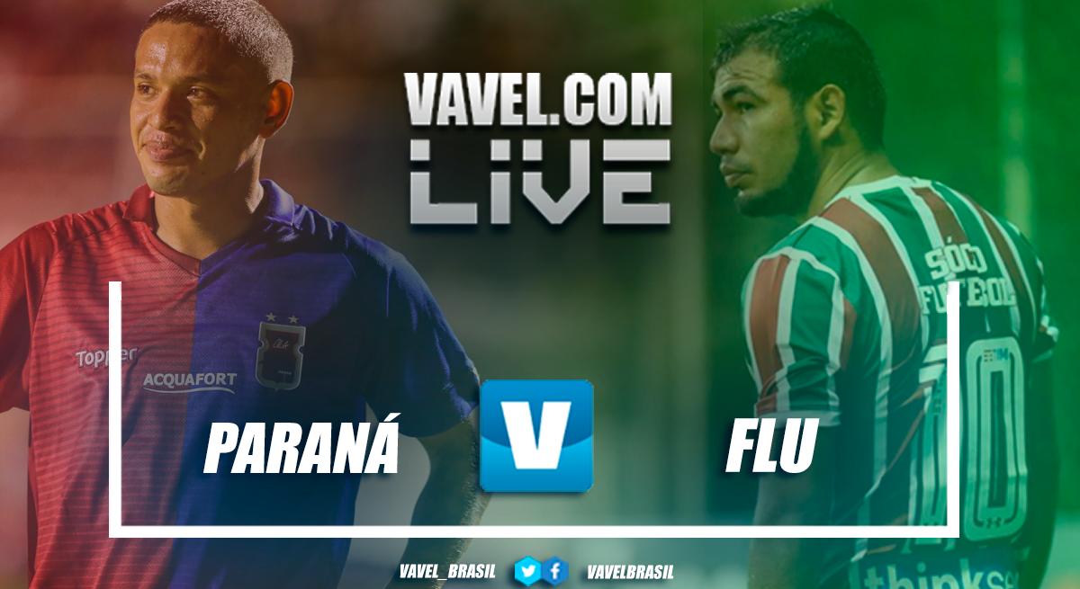 Resultado Paraná 2x1 Fluminense no Campeonato Brasileiro 2018