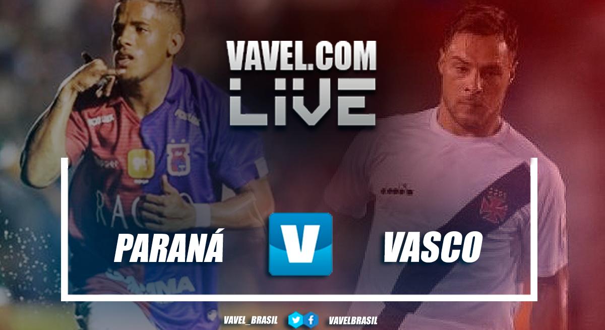 Resultado Paraná x Vasco pelo Brasileirão (1-1)