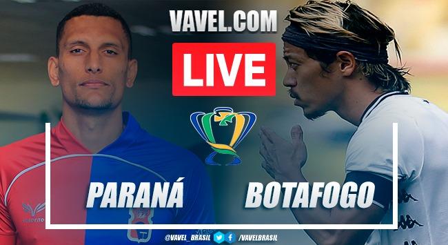 Gols e melhores momentos de Paraná 1 x 2 Botafogo pela Copa do Brasil 2020