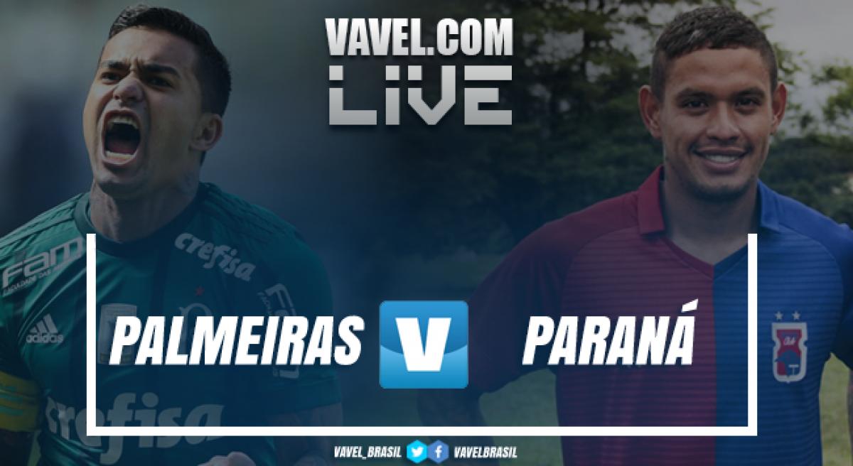 Paraná x Palmeiras AO VIVO em tempo real (1x1)