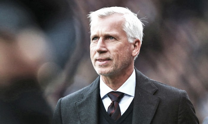 Pardew left frustrated after seeing his Palace side denied two 'blatant' penalties