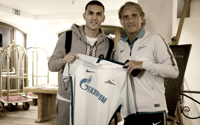 """Zenit, le prime parole di Paredes: """"Contento di essere qui, Mancini è stato decisivo nella mia scelta"""""""