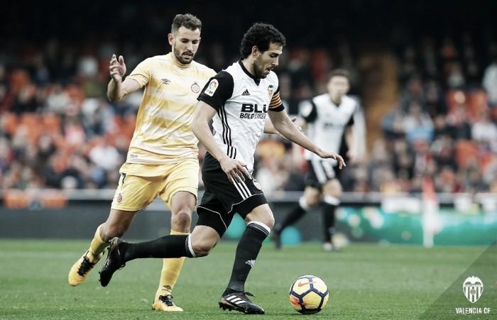 Valencia CF - Girona FC: remontada de Reyes