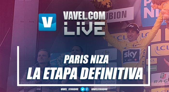 Resultado de la 8ª etapa de la París-Niza 2017: De la Cruz ensombrece la exhibición de Contador