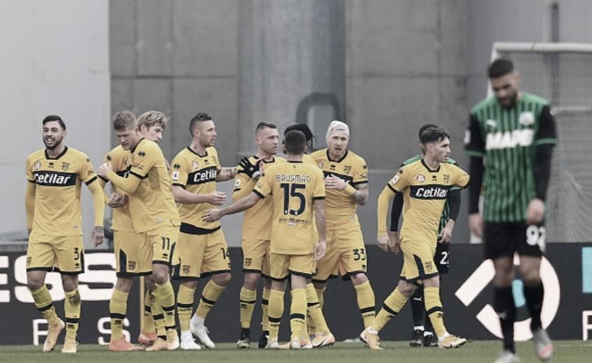 Sassuolo 1 a 1 Parma (Serie A / Divulgação)