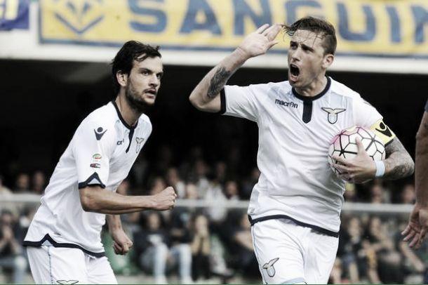 Lazio di rimonta coi centrocampisti: a Verona è 1-2