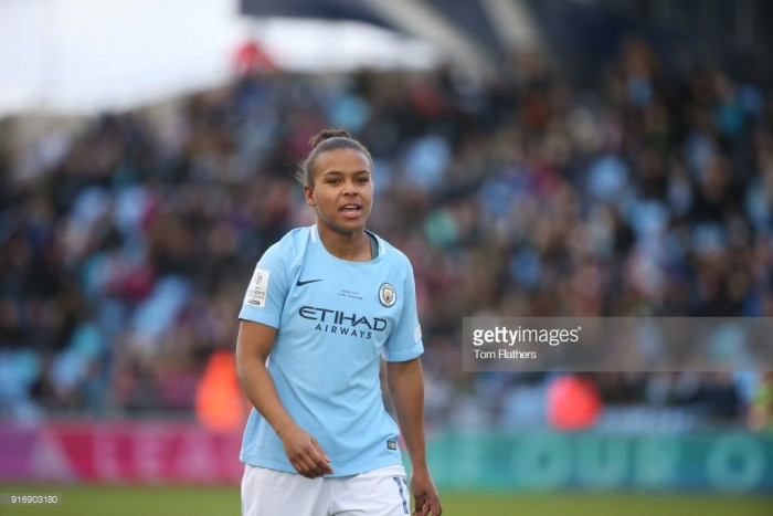Manchester City 4-0 Liverpool: Nikita Parris double helps Citizens on their way to four goal rout