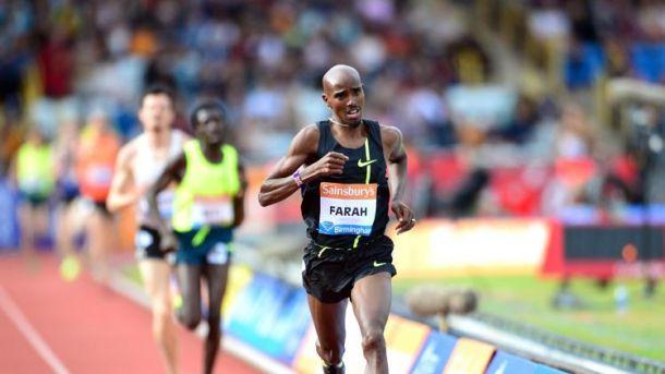 Atletica, Diamond League: a Birmingham record europeo di Mo Farah sulle due miglia, vola Barshim