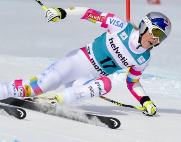 Sci Alpino, super G femminile St. Moritz: inarrestabile Vonn, battute Fenninger e Hosp!