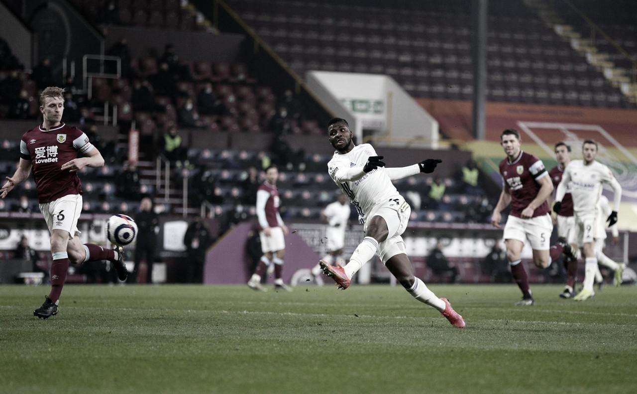 El Leicester rescata un empate en Turf Moor