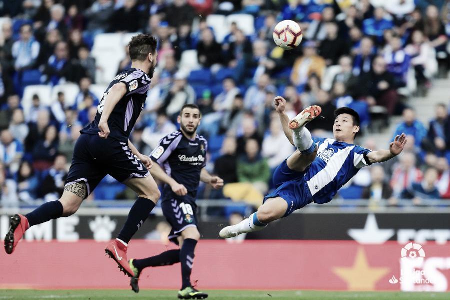 Resumen del RCD Espanyol vs Real Valladolid en LaLiga Santander 3-1