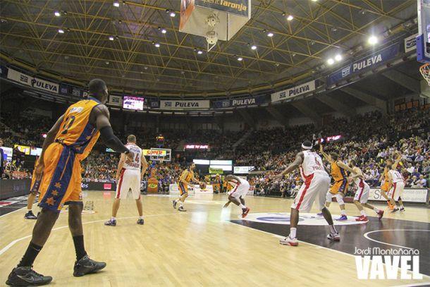 Fotos e imágenes del Valencia Basket 68 - 71 Olympiacos, 1ª jornada Grupo D de la Euroliga