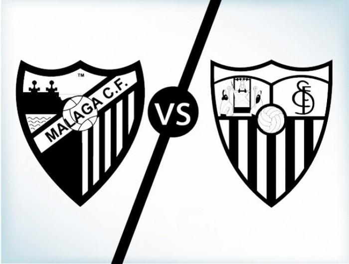 ¿Cómo fue la última visita del Málaga CF en el Ramón Sánchez-Pizjuán?