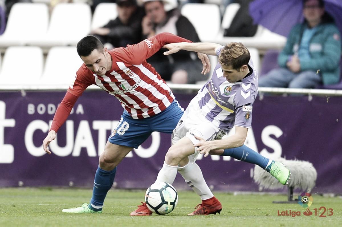 El Real Valladolid se aleja una jornada más del playoff