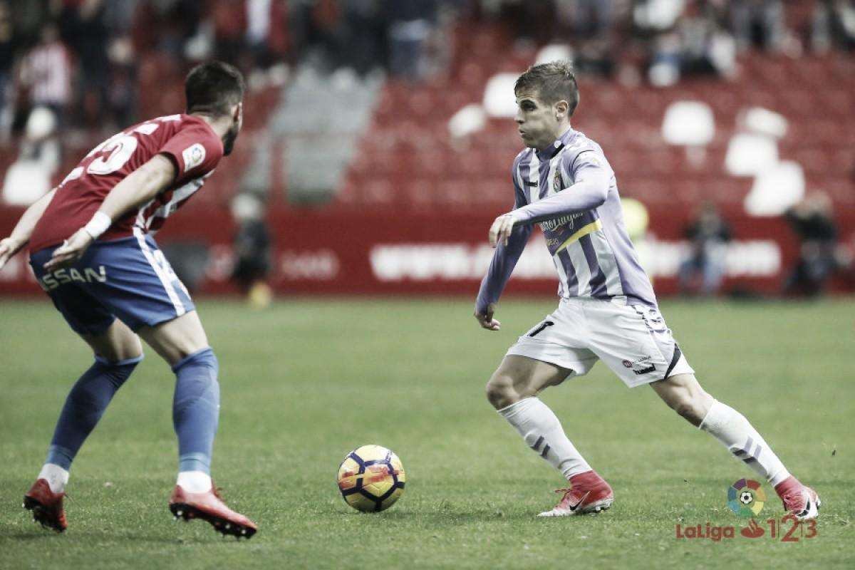 El Real Valladolid se lleva los duelos en casa ante el Sporting de Gijón