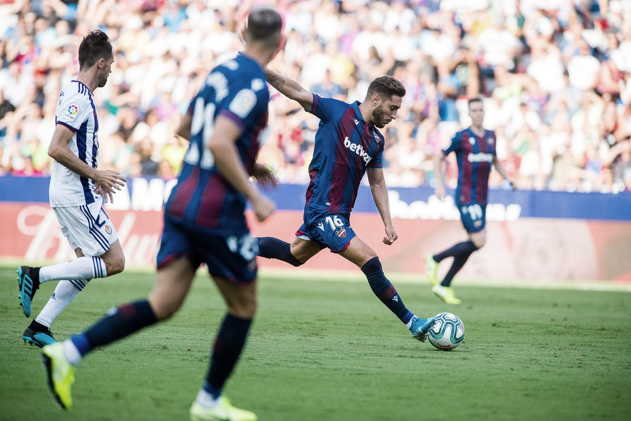 Duelo Levante- Real Valladolid de la 2019-20. Fuente: Levante UD
