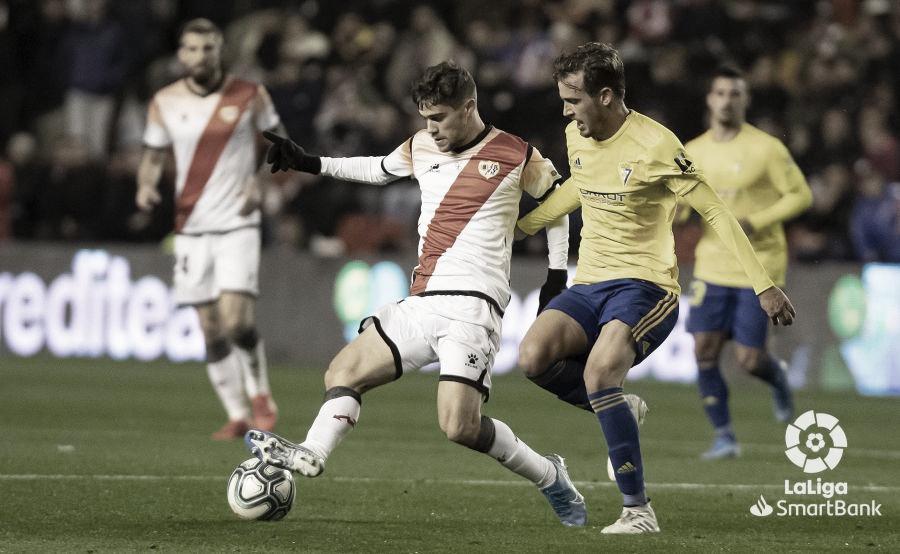 Recordando el Rayo Vallecano - Cádiz CF (1-1) de la primera vuelta