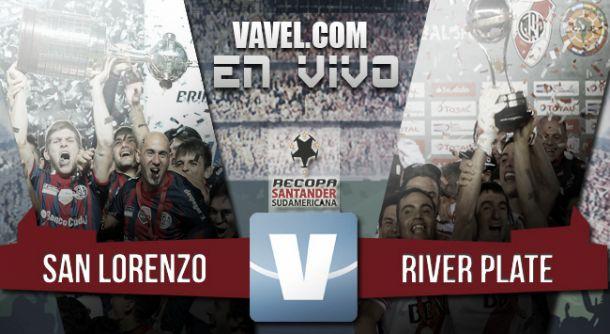 Resultado San Lorenzo - River por la Recopa Sudamericana 2015 (0-1)