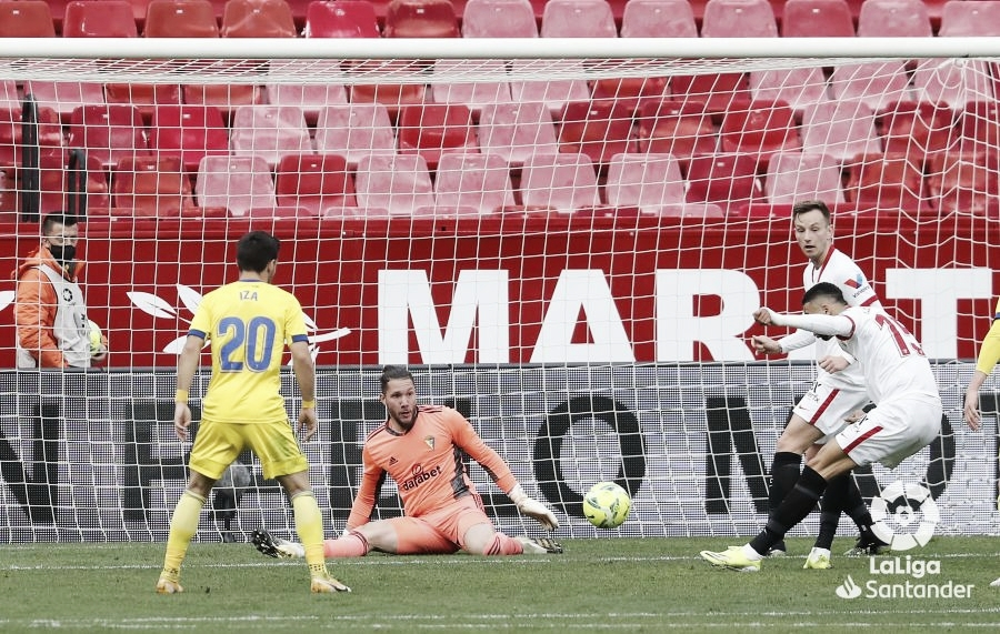 Análisis post-partido: El Cádiz CF cae aplastado ante el Sevilla (3-0)