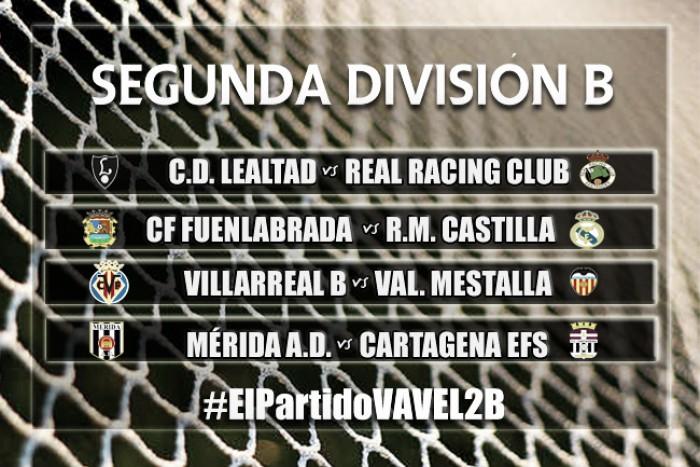 El Partido VAVEL: Segunda División B, jornada 6