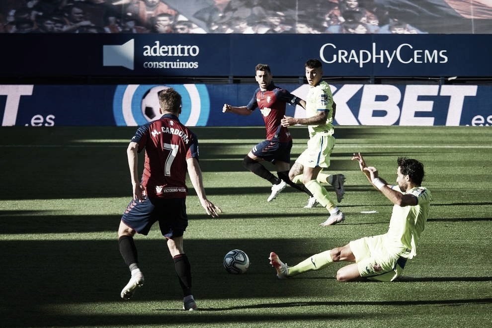 Previa Getafe C.F. - C.A. Osasuna: A por la segunda victoria