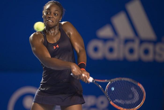 WTA Acapulco Final Preview: Sloane Stephens - Dominika Cibulkova
