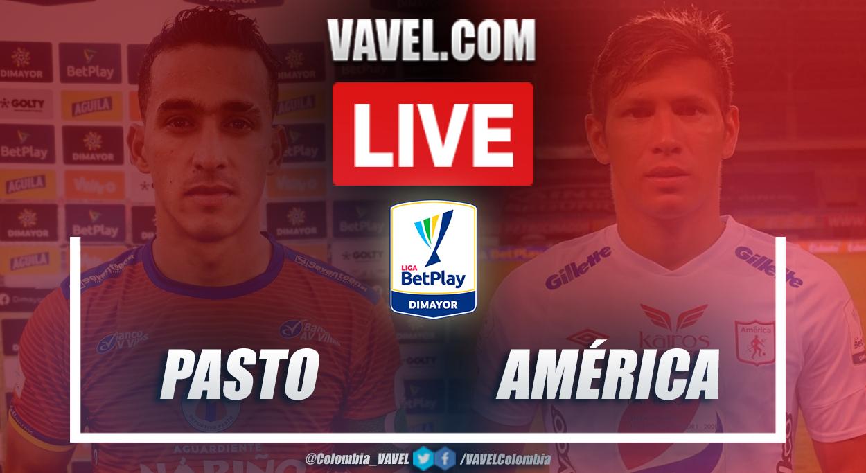 Resumen Pasto vs América (1-1) en la fecha 10 por Liga BetPlay 2021-I