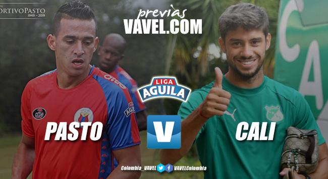 Previa Deportivo Pasto vs Deportivo Cali: tres puntos para buscar alivio