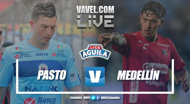 Resumen Deportivo Pasto vs Independiente Medellín en la Liga Águila 2018