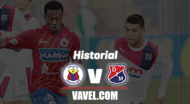 Historial Deportivo Pasto vs Independiente Medellín: duelo histórico