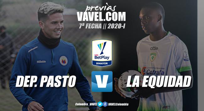 Previa Deportivo Pasto vs. La Equidad Seguros: a refrendar el renacer 'asegurador'