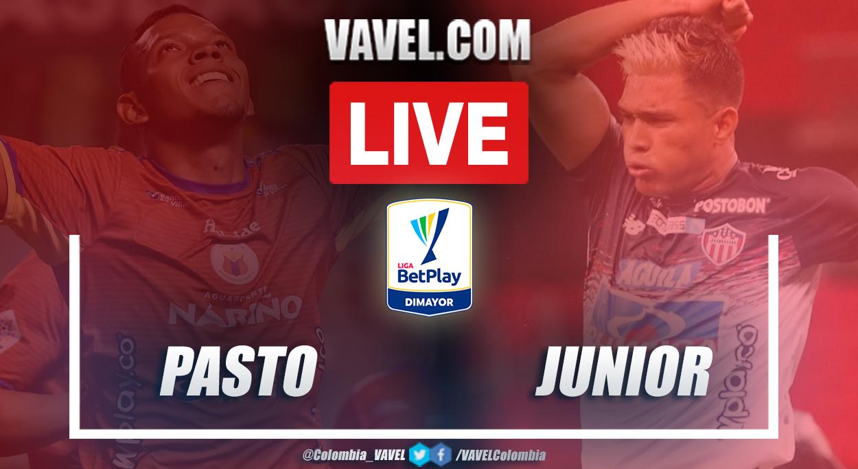 Resumen Pasto vs Junior (0-0) en la fecha 18 por Liga BetPlay