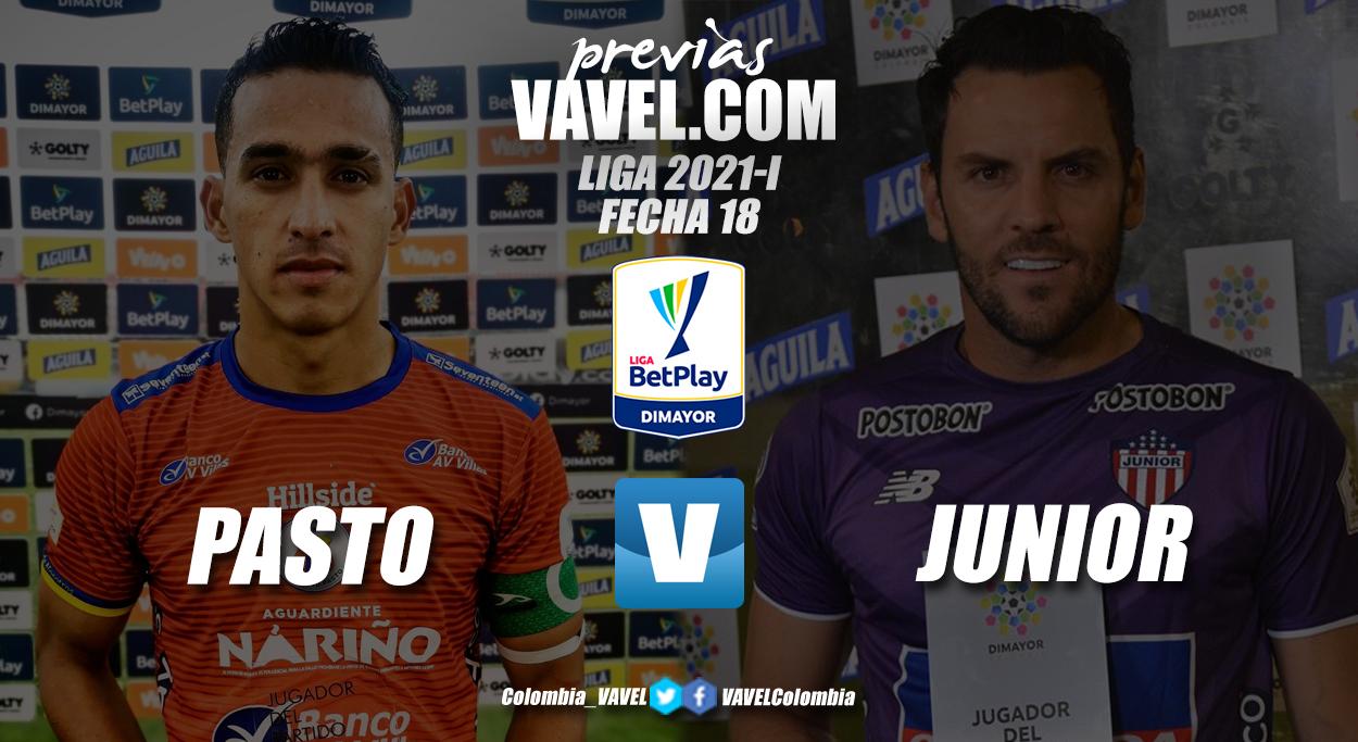 Previa Deportivo Pasto vs Junior de Barranquilla: se juegan el todo o nada