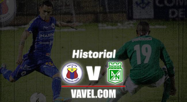 Historial Deportivo Pasto vs. Atlético Nacional: saldo a favor del 'verde'
