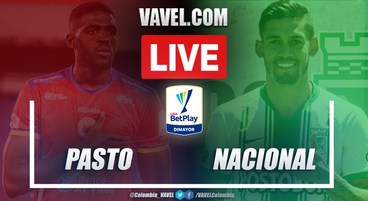 Resumen Pasto vs Nacional (0-0) en la fecha 4 por Liga BetPlay 2021-I