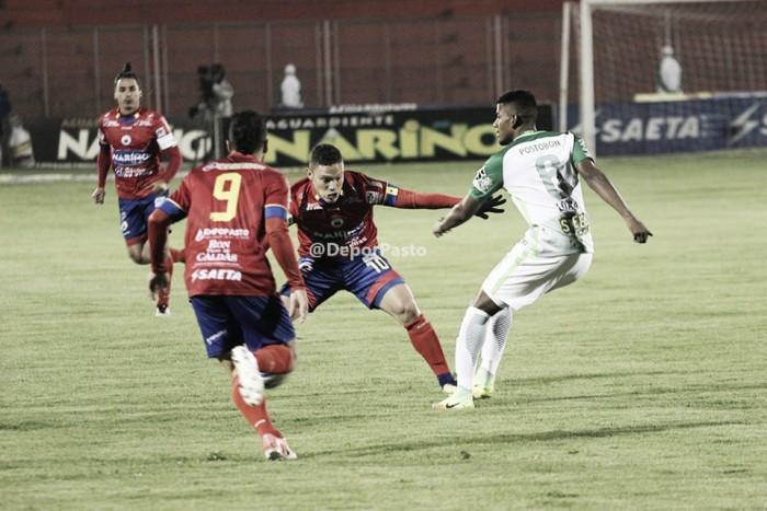 Nacional no pudo encontrar su fútbol y cayó en su visita al Deportivo Pasto