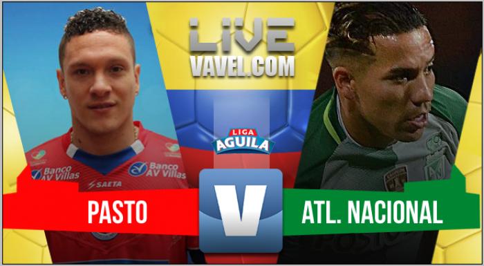 En una noche para olvidar, Pasto derrotó 2-0 al Atlético Nacional