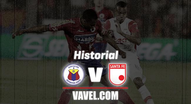 Deportivo Pasto vs Independiente Santa Fe: historial de enfrentamientos
